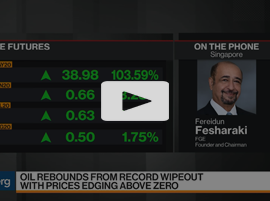 Oil market balance could begin to turn in July or August, FGE's Fereidun Fesharaki Says