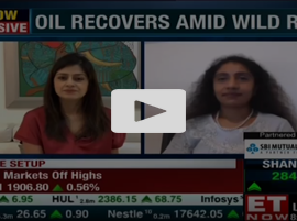 Oil recovers amid wild ride | Sri Paravaikkarasu, FGE to ET NOW