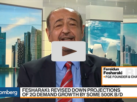 OPEC Will Keep Oil $65 to $70 in Second Half of the Year, Says FGE's Fesharaki